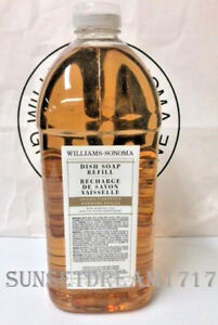Williams Sonoma Spiced Chestnut Dish Soap Refill - 68fl oz NEW