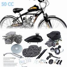 Fahrrad mit Hilfsmotor 2-Takt 50CC Moteur Motorisierte Motor 30km / Stunde Kit H