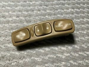 2001 Saturn L Series OEM power seat control switches tan