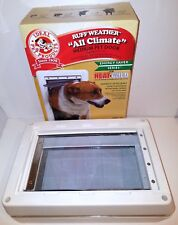 "(NEW OPEN BOX) Ideal Pet Products RUFF WEATHER Dog Door Medium 7.25"" x 13"" Flap"
