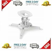 Universal Ceiling Projector Mount Stand Epson Optoma Benq Viewsonic Short New