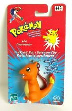 Pokemon Charmander #04 Backpack Pal Pokemon Clip Hasbro 1998/2000 - Rare