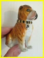 More details for english porcelain bulldog pepper,circa 1870,hand painted