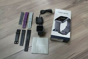 Fitbit Versa Fitness Watch Special Edition + Extra Bands