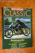 Motorrad Classic 3/90 AJS 7R NSU lambretta Suzuki T 20