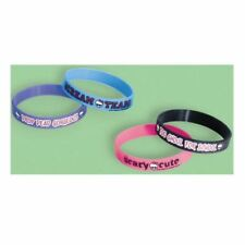 4pk Monster High Party Gifts Loot Favors Friendship Rubber Bracelets