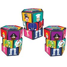 Set of 3 Mix and Match Puzzles Toys Dress-up Puzzle - Fun Stocking Filler Gift