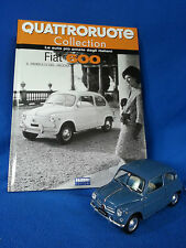 FIAT 600 scala 1:24 - QUATTRORUOTE COLLECTION FABBRI EDITORI