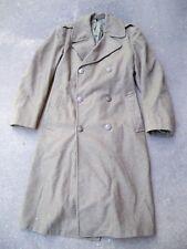WWII U.S. Marine Corps USMC Wool Jacket Overcoat Trench Coat Jacket Mens Size 36