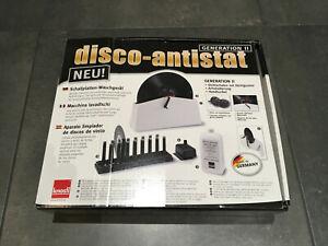 Knosti disco-antistat LP Waschanlage Schallplattenwaschmaschine Generation II 2