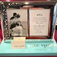 kate spade NY by LENOX GARDNER STREET Double 5x7 Invitation Picture Frame 792190