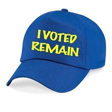 Don't Blame Me Voted Remain European Union BASEBALL CAP HAT EU I'm In Referendum