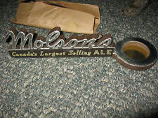 NOS Antique 1950's Molson Beer Counter Top Change Dish