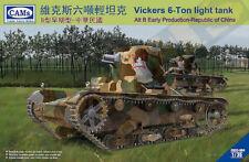 RIICH MODELS 1/35 Vickers 6-ton Carro armato leggero ALT B PRESTO