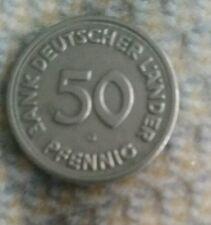 G – Bank Deutscher Länder 1949 – 50 Pfennig Stück