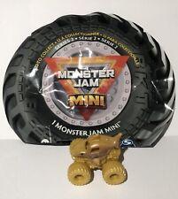 2021 Spin Master Series 2 Monster Jam Mini MEGALODON GOLD Chase Treasure Hunt