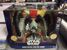 2010 Star Wars The Clone Wars Radio Control Hailfire Droid with Clone Trooper