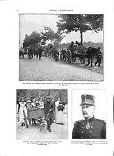 Général Gérard Léman Défenseur de Liège  Belgium Belgique 1914 WWI ILLUSTRATION