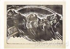 New Postcard of The Volunteers Die Freiwilligen (1922/23) By Käthe Kollwitz