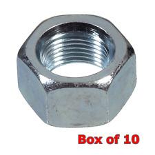 10 x M30 3.5 zinc plaqué acier Grade 8 Haute Résistance Hexagonal Métrique Complet écrous