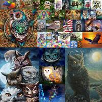 Owl Animal Full Drill DIY 5D Diamond Embroidery Painting Cross Stitch Kit Decor