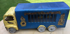 Original, Vintage, Tri-ang, Large, 6Wheel, Circus, Roadster Truck With Side Bars