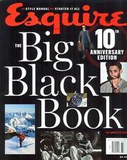 Esquire Big Black Book Magazine USA F/W 2016 10 ANNIVERSARY EDITION NEW