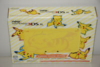 new Nintendo 3DS XL PIKACHU YELLOW Edition Game Console Entertainment System New