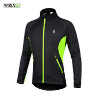 Winter Mens Cycling Jacket MTB Bike Thermal Windproof Jersey Riding Sports Coat