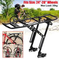 Alloy Bicycle Rear Rack Mountain Bike Seat Carrier Pannier Luggage Bracket