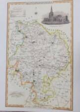 1800-1899 Date Range County Map Antique Europe Wall Maps
