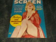 New listing Marilyn Monroe on Screen_ 1956  Magazine💘 Wonderful Shape*