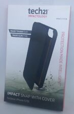 GENUINE TECH21 IMPACT SNAP with COVER - iPHONE 5/5S BLACK