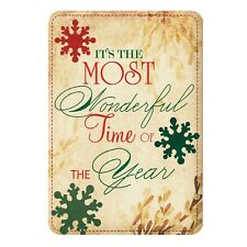 Aluminium Sign-Most Wonderful Time of the Year-Christmas Metal Door,Wall Plaque