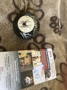 Jeanette Lee autographed signed autograph auto Black Widow  billiards ball jsa