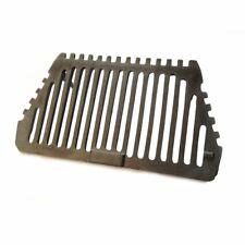 "Regal Fire Grate - Cast Iron with 2 Legs for a 16"" Fireplace Opening"