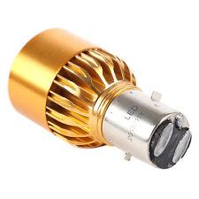 2x BA20D 3 LED Bulb Motorcycle / Moped Headlight bulb Fog light DRL Gold CT R6S2