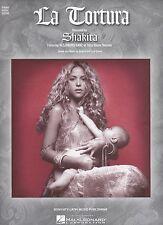 Shakira Include Alejandro Sanz La Tortura US Foglio Musica