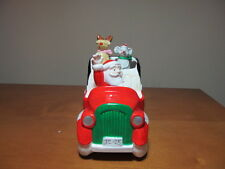Here Comes Santa Claus Musical Christmas Car
