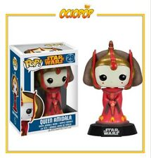 Funko Pop! Movies: Star Wars - Queen Amidala (29) Figura Bobble Head