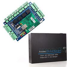 Network Access Control Controller Board 220V 230V Power Box For 4 Door 4 Reader;