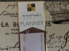 "American Crafts DCWV Moment Maker Planner System Binder 7.9"" x 9.6"" Paris"