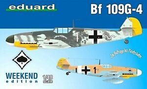 Eduard Weekend Edition 1:48 Messerschmitt Bf 109G-4 Aircraft Model Kit