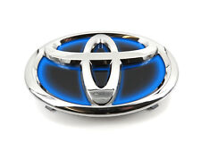 Genuine New TOYOTA GRILLE BADGE Front Blue Embem Camry & Prius Hybrid 2012-2015