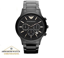 EMPORIO ARMANI AR2453 Renato Herren Uhr Chronograph Edelstahl Klassic *NEU&OVP*