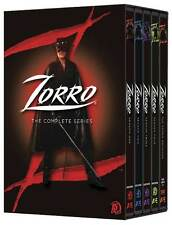 Zorro: The Complete TV Series Seasons 1 2 3 4 DVD Boxed Set Collection NEW!