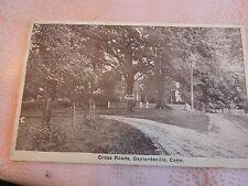Rare 1933 Cross Roads, Gaylordsville, CT Connecticut post card