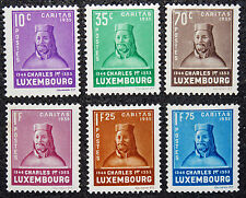 LUXEMBOURG timbres/Stamps Yvert et Tellier n°276 à 281 n* (cyn8)
