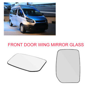 For Ford Transit 2000-2013 OE 4059969 Right Side Wind Door Mirror Lens Durable