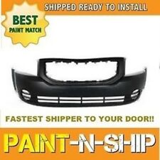 Fits 2010 2011 Dodge Caliber (No Fogs) Front Bumper Painted (CH1000871)